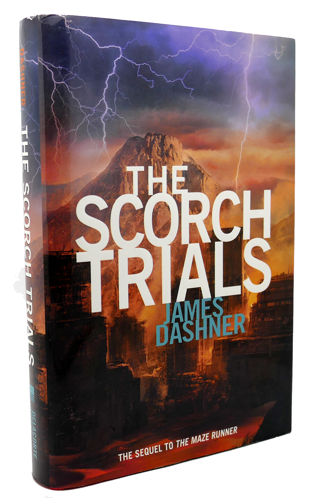 The Scorch Trials James Dashner First Edition First Printing