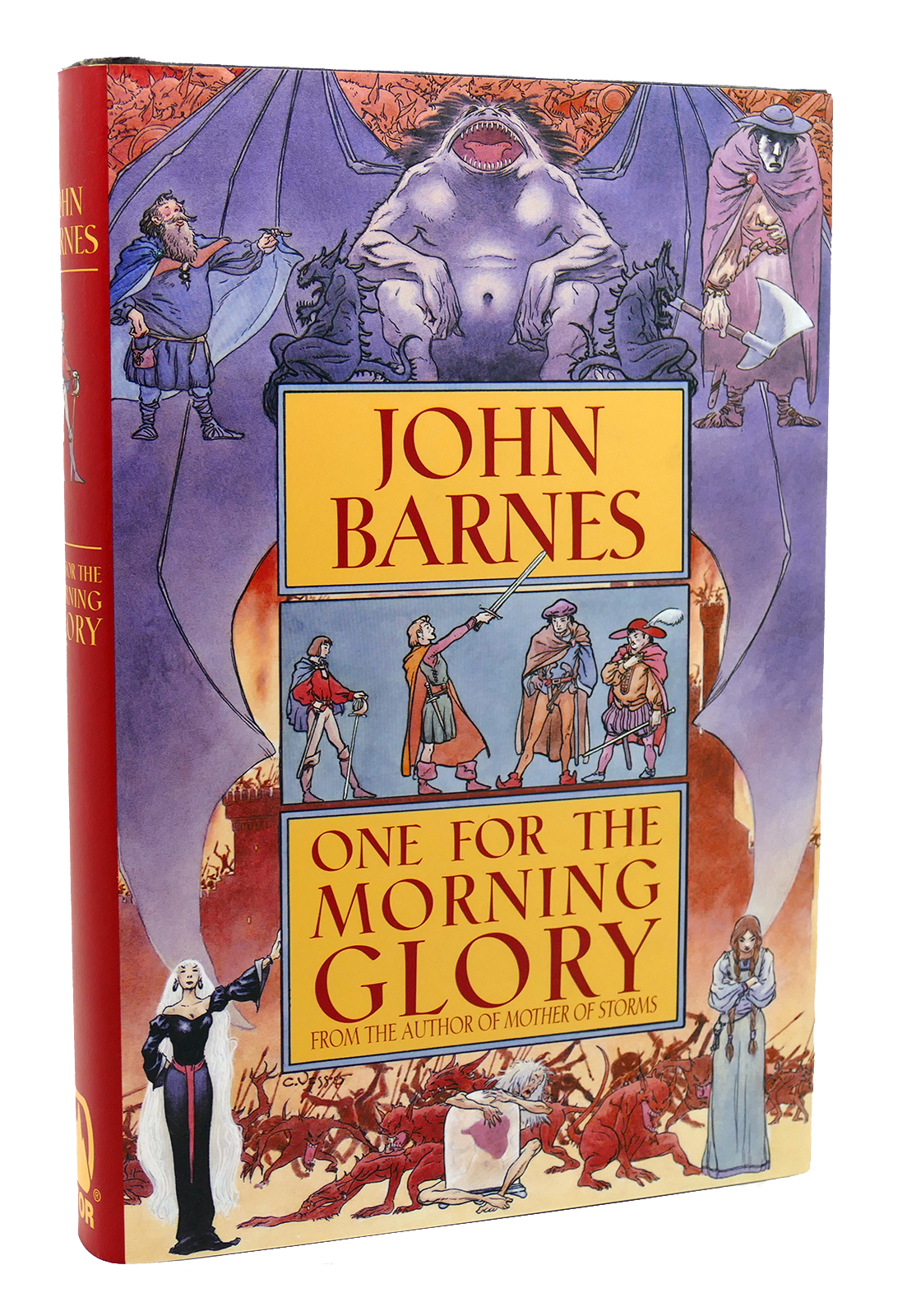 Read One For The Morning Glory By John Barnes