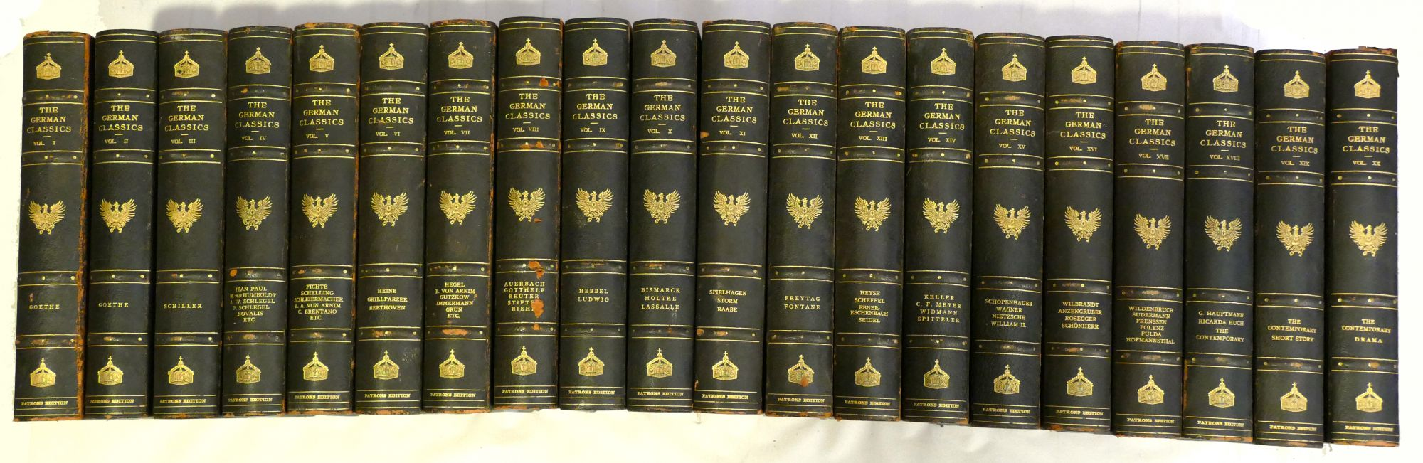 THE GERMAN CLASSICS Masterpieces of German Literature [Complete 20 Volume Set