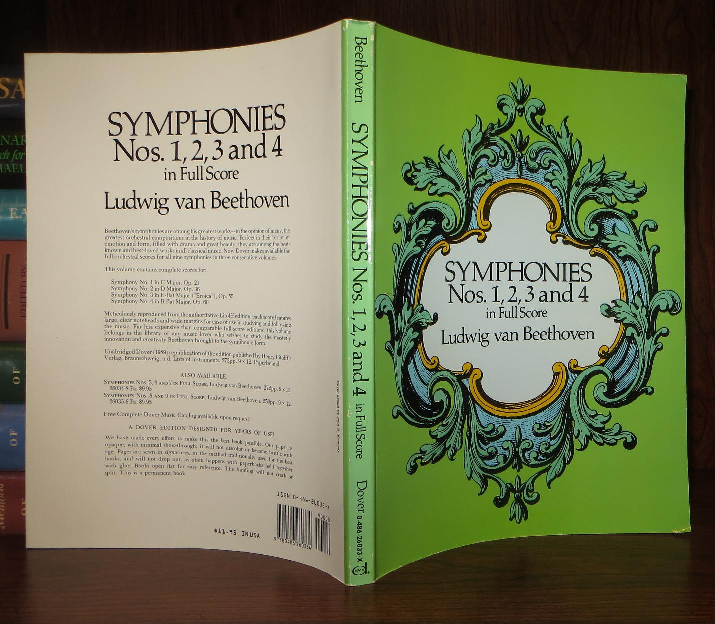 8 and 9 in Full Score Symphonies Nos