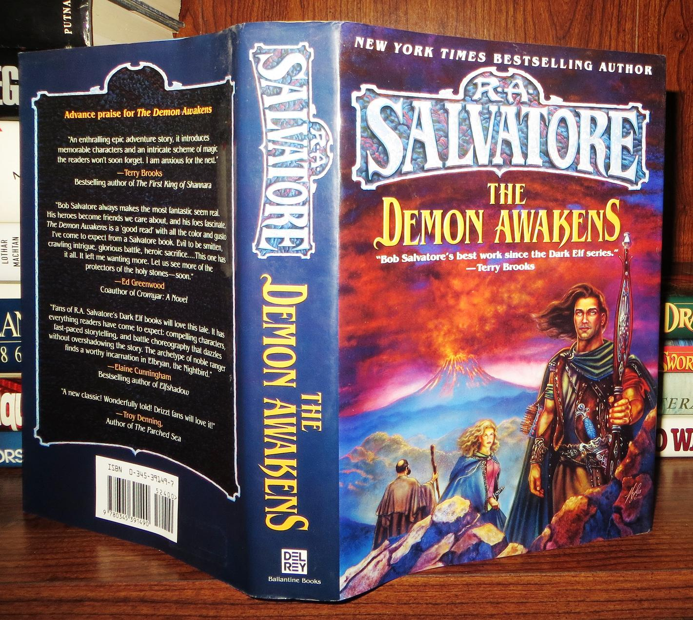THE DEMON AWAKENS by R  A  Salvatore on Rare Book Cellar