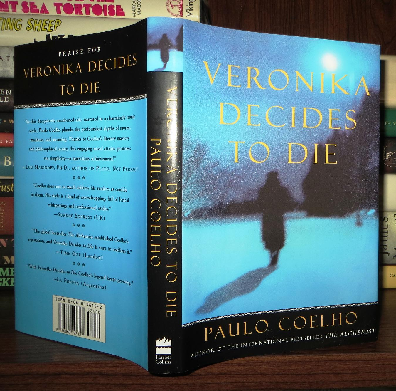 VERONIKA DECIDES TO DIE | Paulo Coelho | First Edition ...