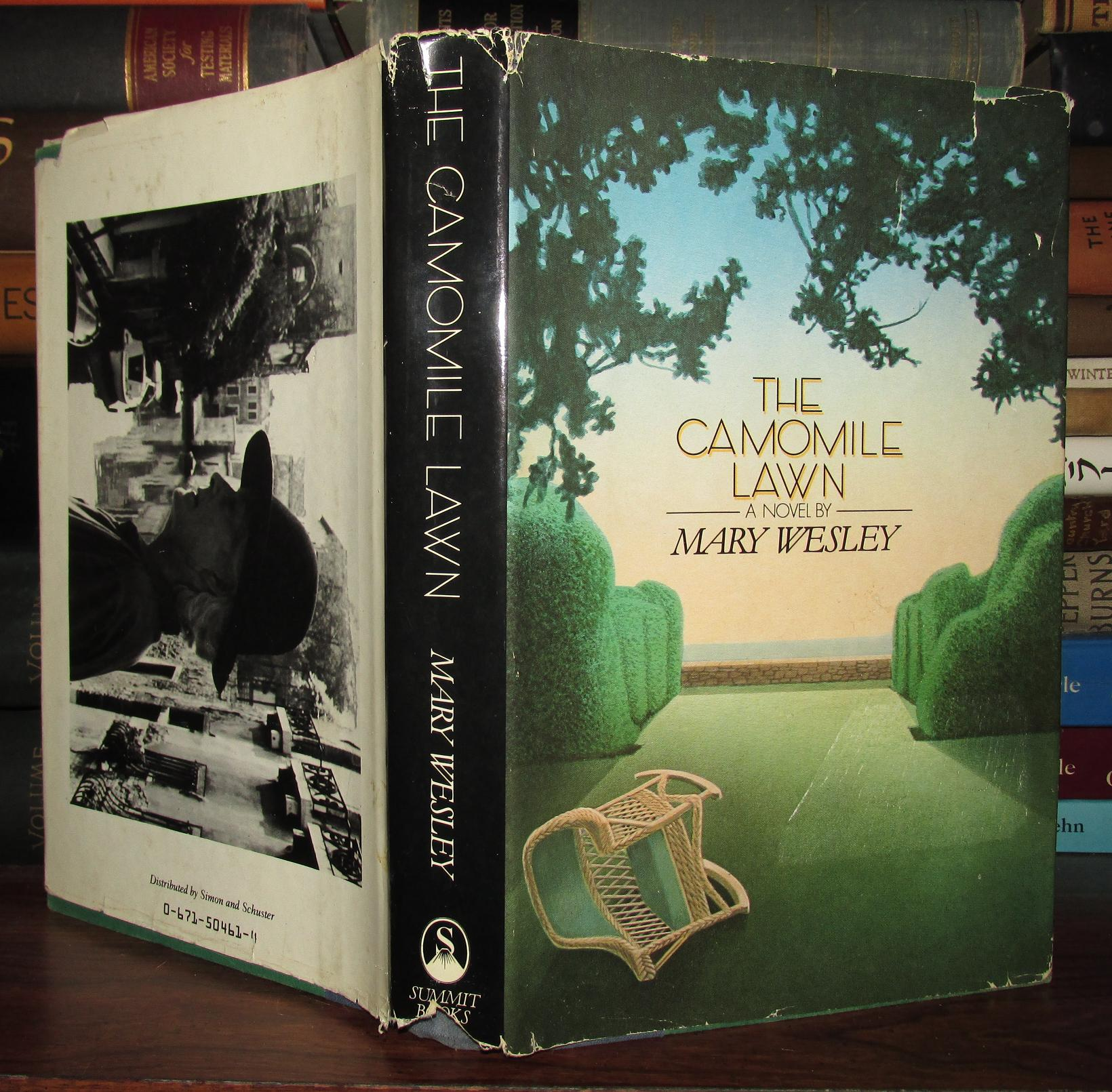 The Camomile Lawn A Novel Mary Wesley First Edition border=