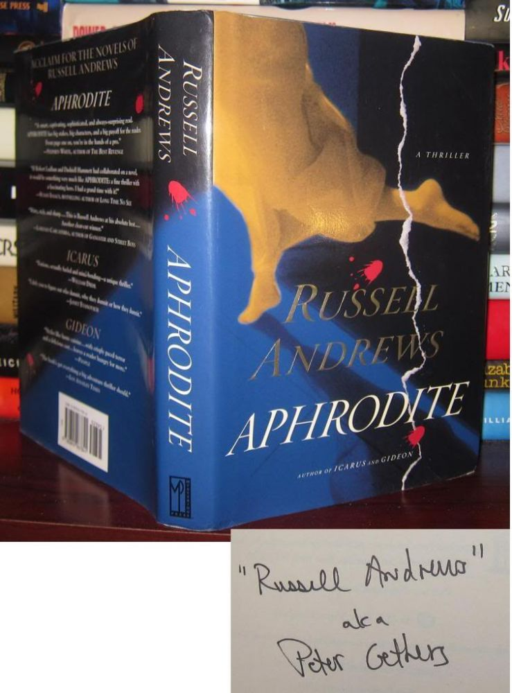 APHRODITE Signed 1st. Russell - Peter Gethers Andrews.