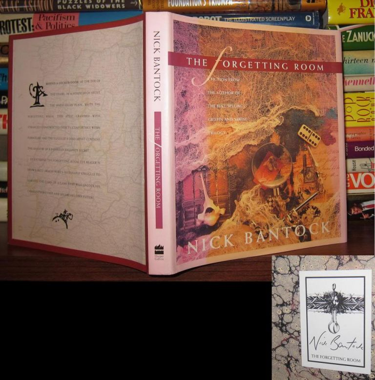 THE FORGETTING ROOM : A Fiction (Byzantium Book) [ Signed 1st ]. Nick Bantock.