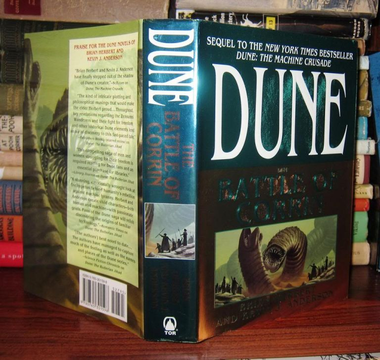 THE BATTLE OF CORRIN Legends of Dune, Book 3. Brian Herbert, Kevin J. Anderson.