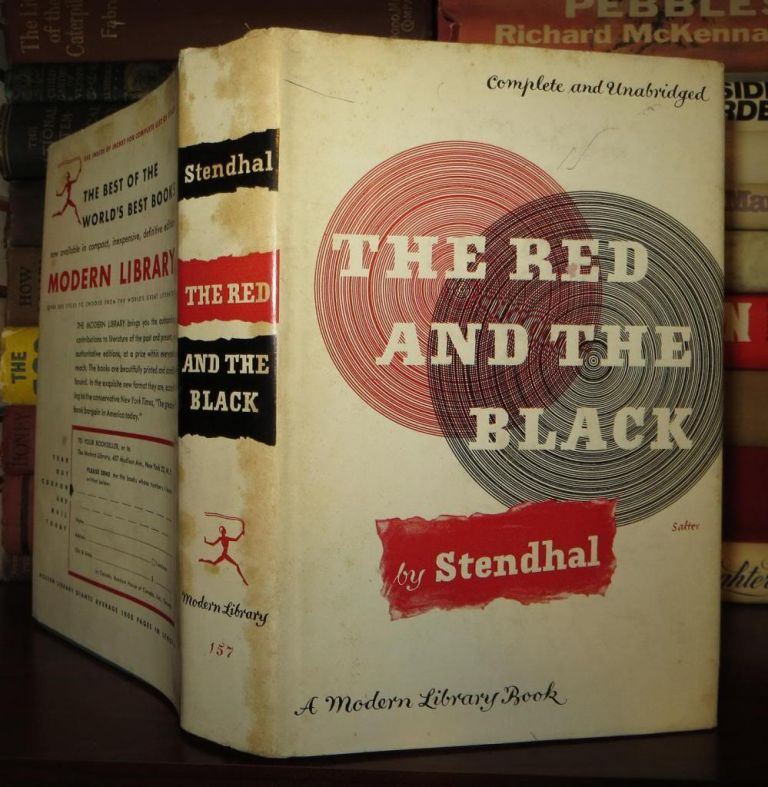 THE RED AND THE BLACK. Marie-Henri Beyle De Stendhal, Tanslated C. K. Scott Moncrieff.