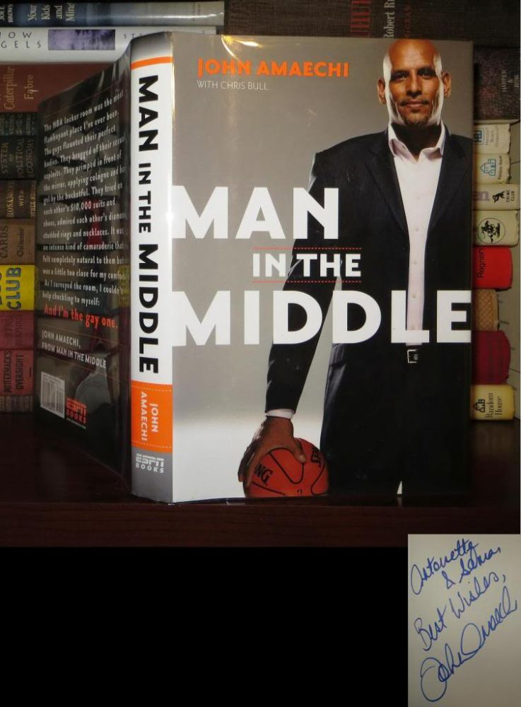 MAN IN THE MIDDLE Signed 1st. John Amaechi.