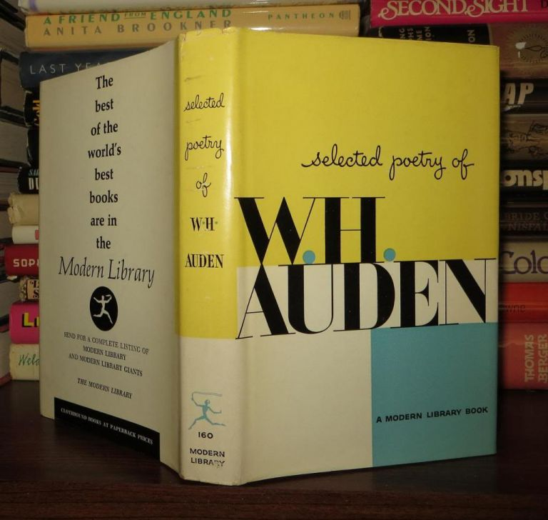 SELECTED POETRY OF W. H. AUDEN. W. H. Auden.