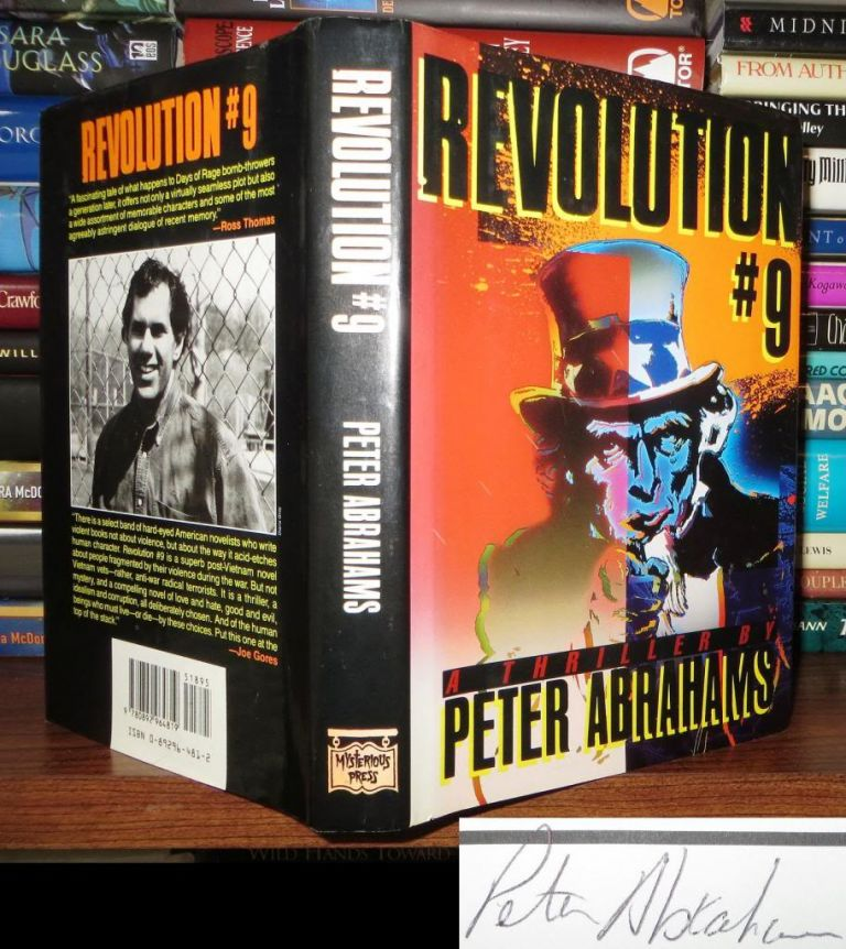 REVOLUTION #9 Signed 1st. Peter Abrahams.