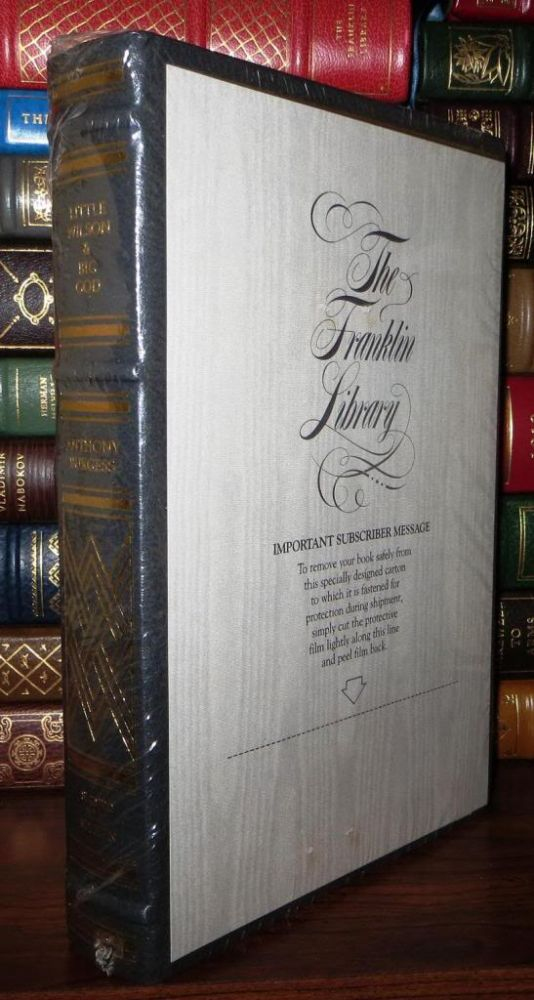 LITTLE WILSON AND BIG GOD Signed 1st Franklin Library. Anthony Burgess.