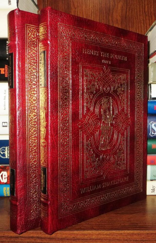 HENRY THE FOURTH Easton Press. William Shakespeare.