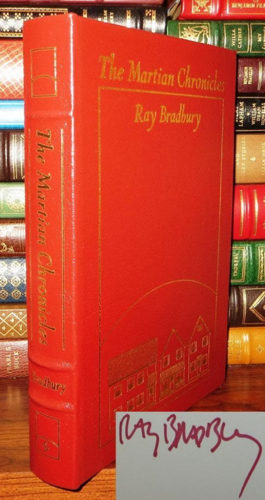 MARTIAN CHRONICLES Signed Easton Press. Ray Bradbury.
