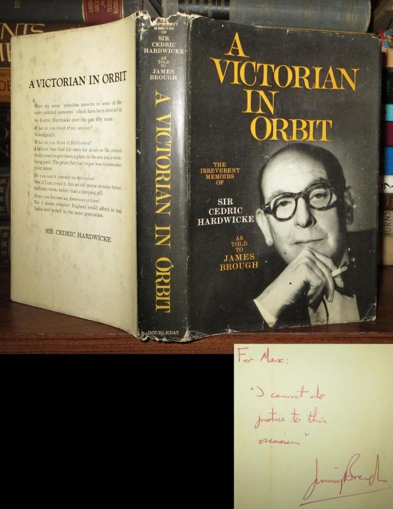 A VICTORIAN IN ORBIT Signed 1st. James Brough.