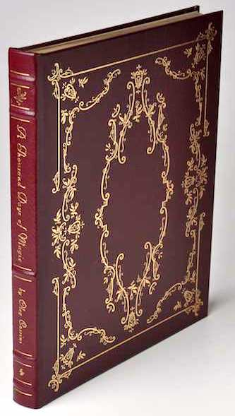 A THOUSAND DAYS OF MAGIC: Signed Easton Press. Oleg Cassini.