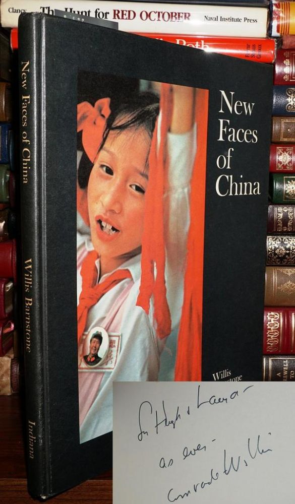 NEW FACES OF CHINA Signed 1st. Willis Barnstone.