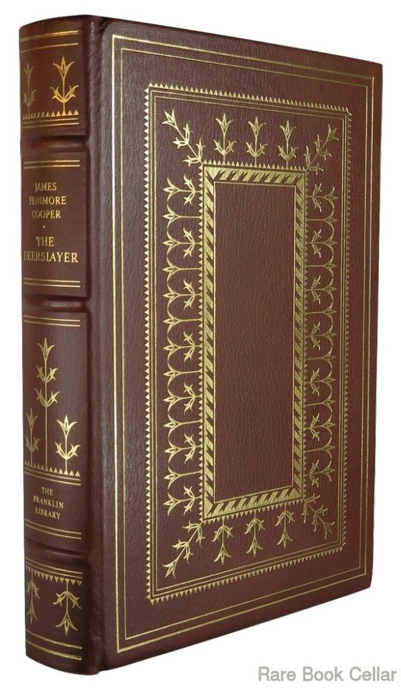 THE DEERSLAYER Franklin Library. James Fenimore Cooper.