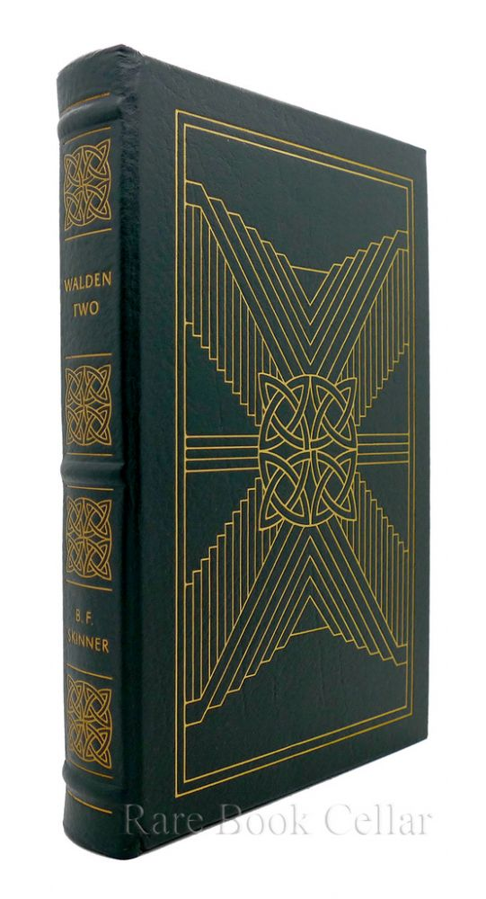 WALDEN TWO Easton Press. B. F. Skinner.