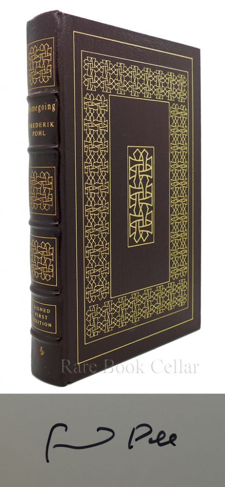 HOMEGOING Signed Easton Press. Frederic Pohl.