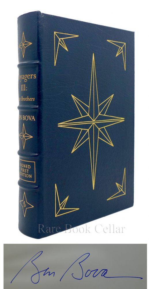 VOYAGERS III: Signed Easton Press. Ben Bova.