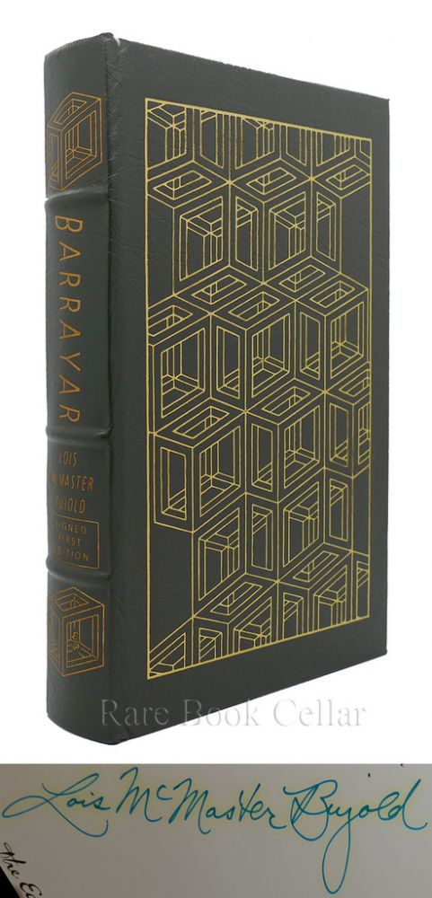 BARRAYAR Signed Easton Press. Lois McMaster Bujold.