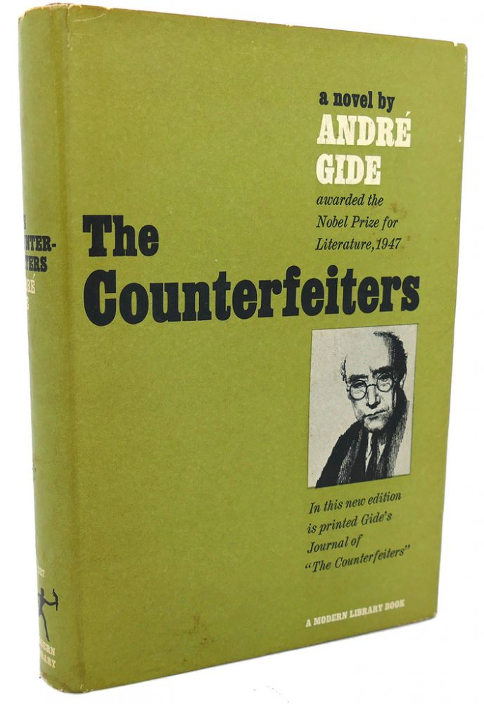 THE COUNTERFEITERS. Andre Gide.