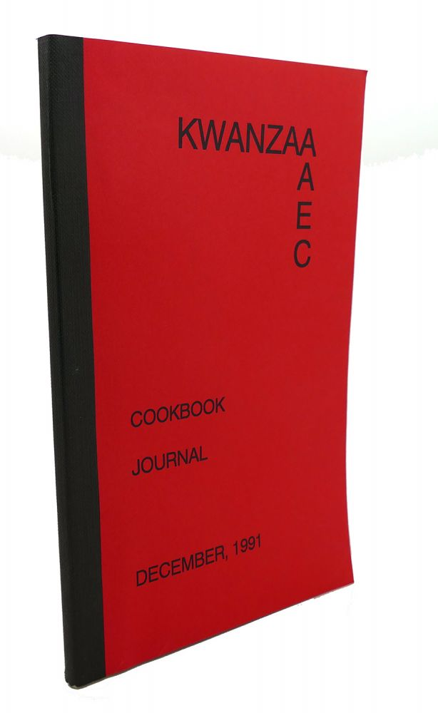 KWANZAA, COOKBOOK JOURNAL : December 1991
