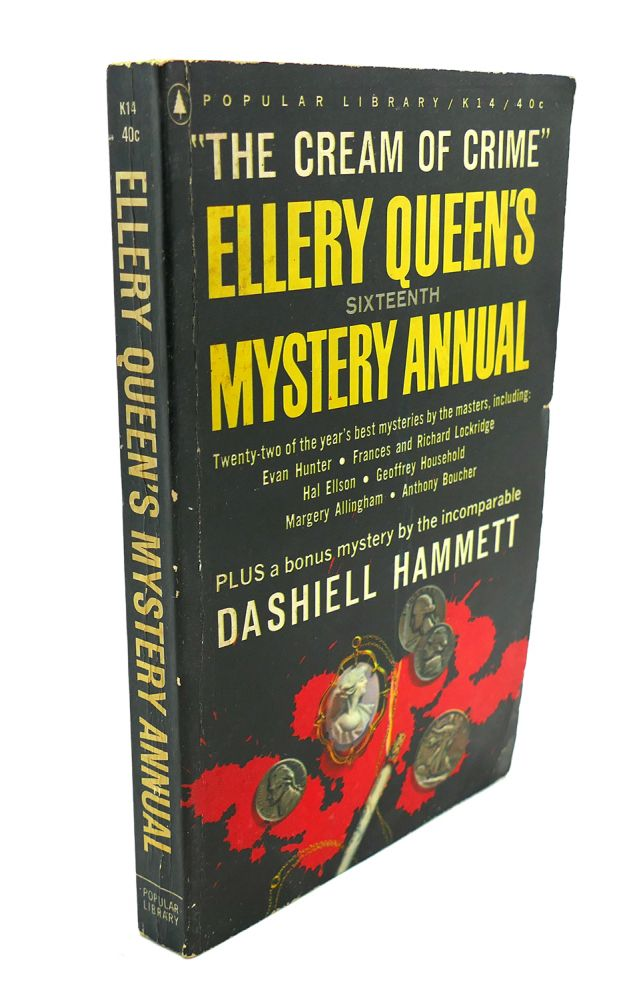 16TH MYSTERY ANNUAL. Ellery Queen.