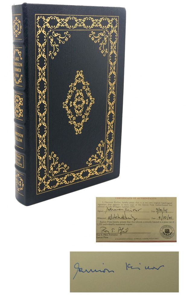 LAKE WOBEGON DAYS 1956 Signed Easton Press. Garrison Keillor.