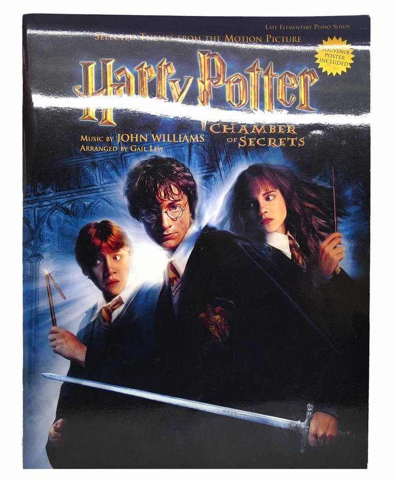HARRY POTTER AND THE CHAMBER OF SECRETS Selected Themes from the Motion Picture. John Williams, Gail Lew J. K. Rowling.