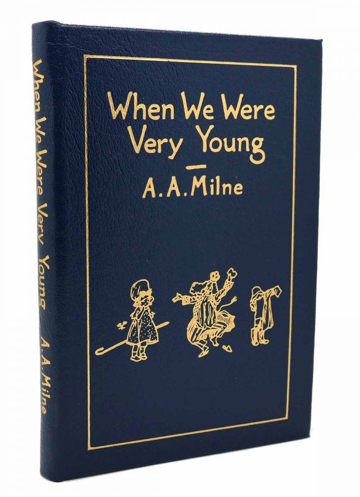 WHEN WE WERE VERY YOUNG Easton Press. A. A. Milne.