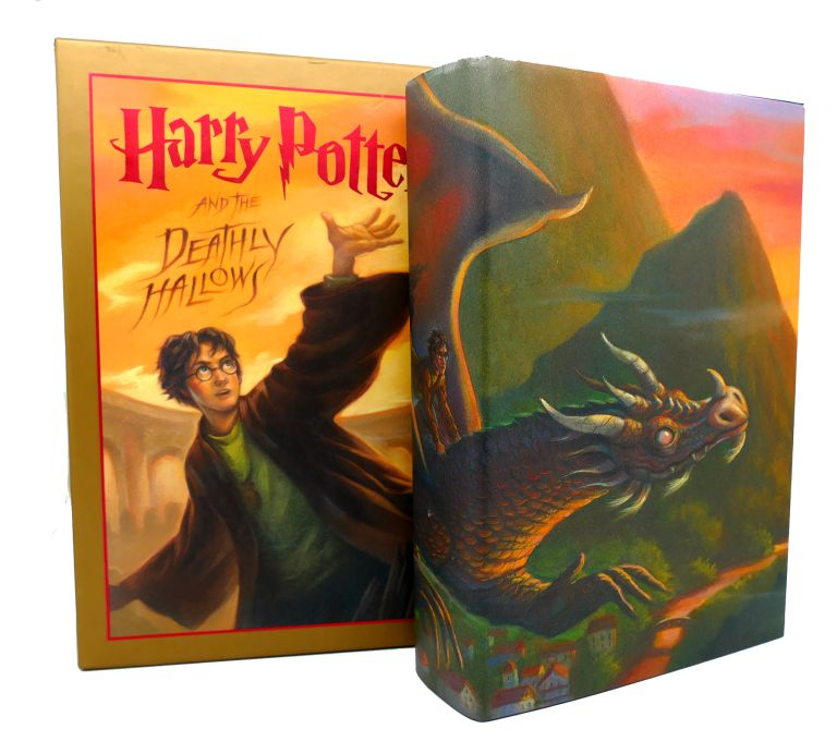 Harry Potter And The Deathly Hallows Deluxe Edition J K Rowling