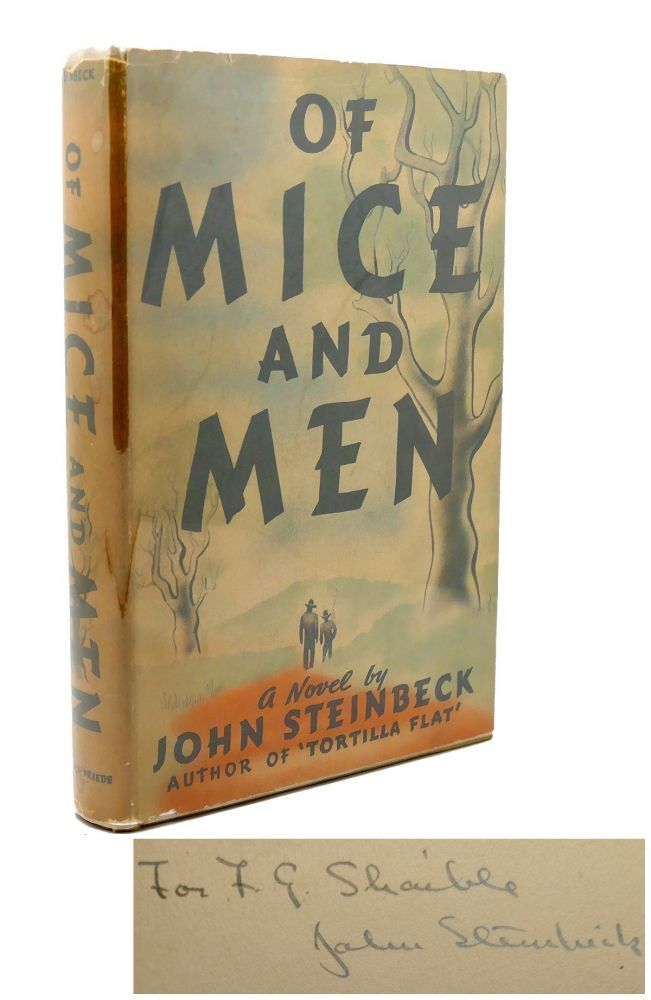 OF MICE AND MEN Signed 1st Issue! John Steinbeck.
