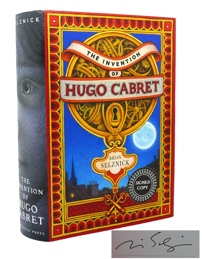 THE INVENTION OF HUGO CABRET Signed 1st. Brian Selznick.