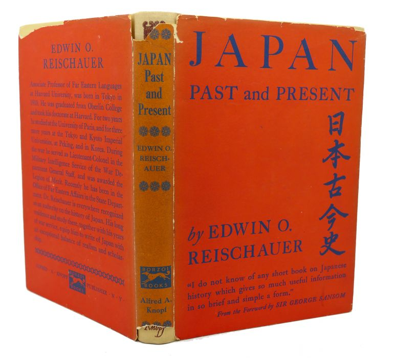 JAPAN PAST AND PRESENT. Edwin O. Reischauer.