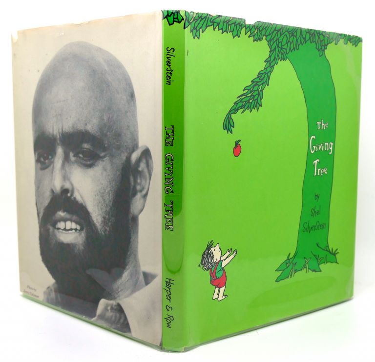 THE GIVING TREE 3.95 Price on Flap. Shel Silverstein.