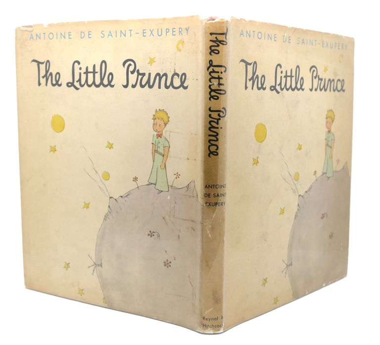THE LITTLE PRINCE True 1st Issue 2.00 Price on Flap. Antoine De Saint-Exupery.