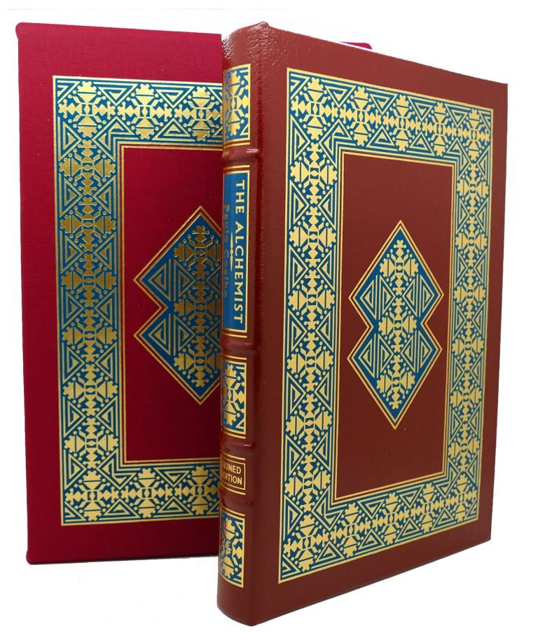 THE ALCHEMIST Signed Easton Press. Paulo Coelho.