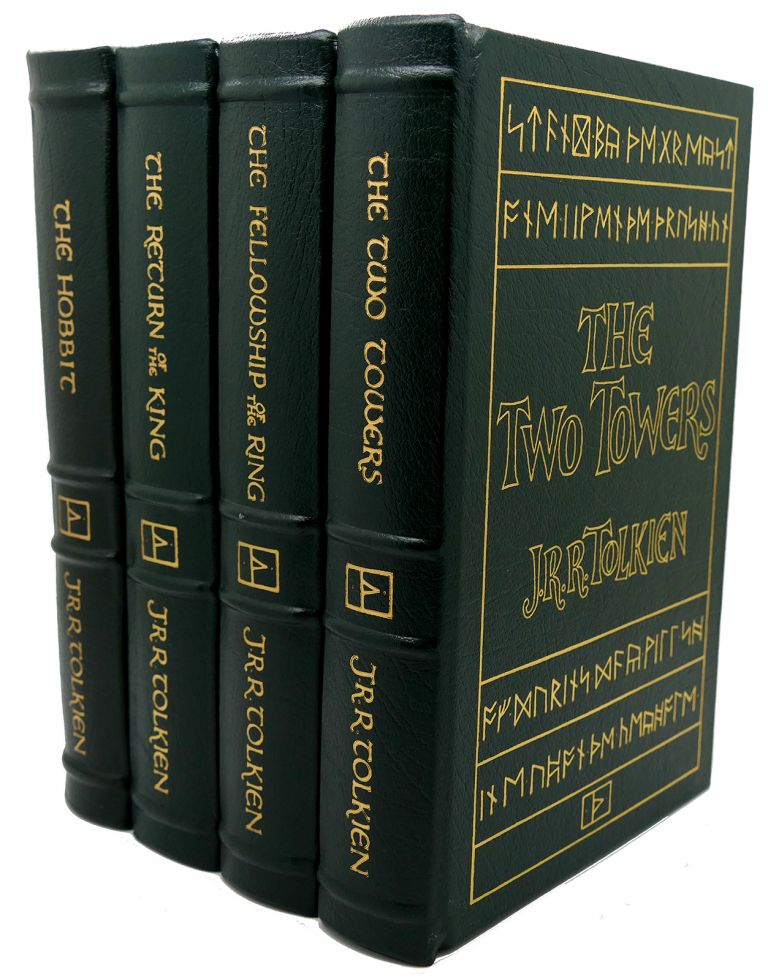 THE HOBBIT, THE FELLOWSHIP OF THE RING, THE TWO TOWERS, THE RETURN OF THE KING Easton Press. J. R. R. Tolkien.