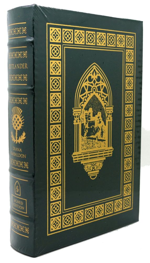 OUTLANDER Signed Easton Press. Diana Gabaldon.