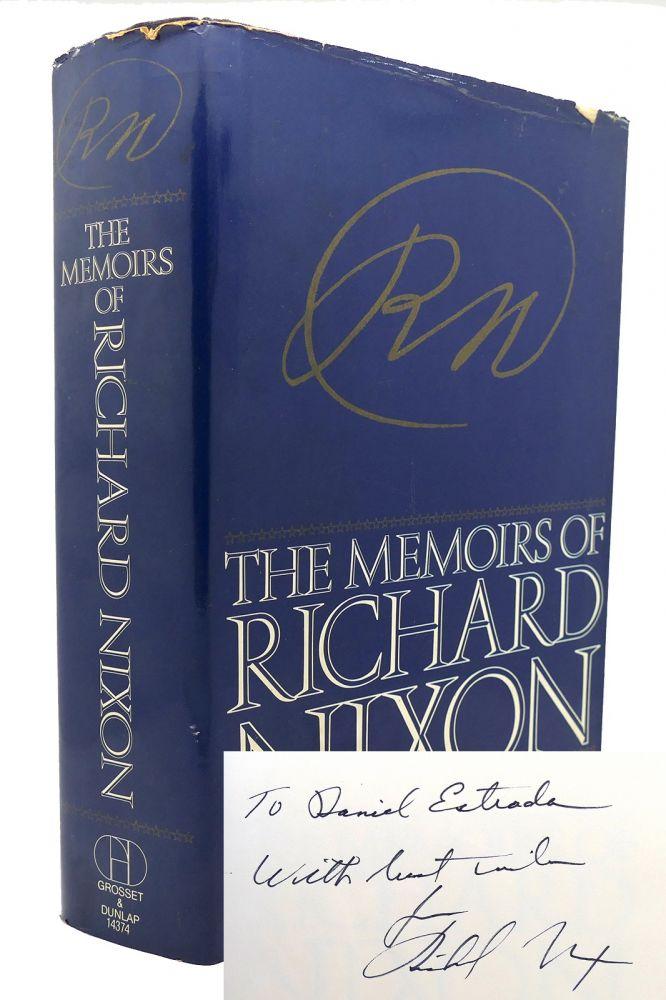 THE MEMOIRS OF RICHARD NIXON Signed 1st. Richard Milhous Nixon.