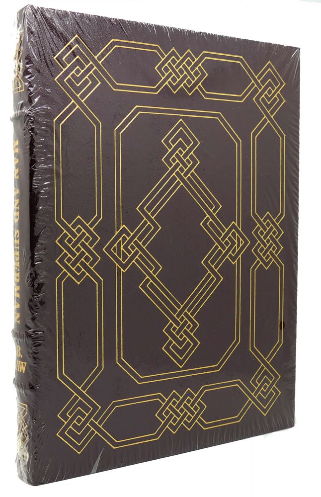 MAN AND SUPERMAN Easton Press. George Bernard Shaw.