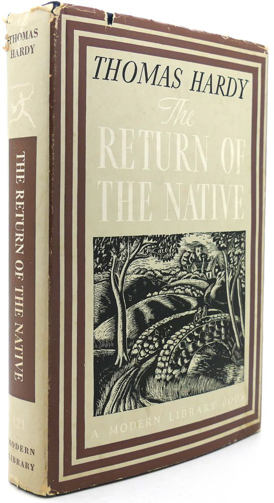THE RETURN OF THE NATIVE Modern Library #121. Thomas Hardy.