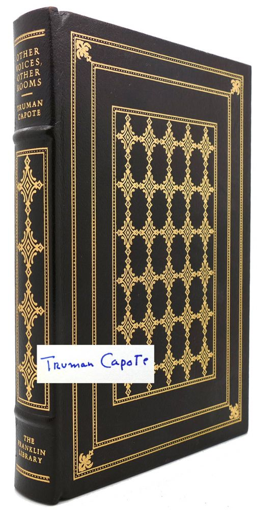 OTHER VOICES, OTHER ROOMS Signed 1st Franklin Library. Truman Capote.