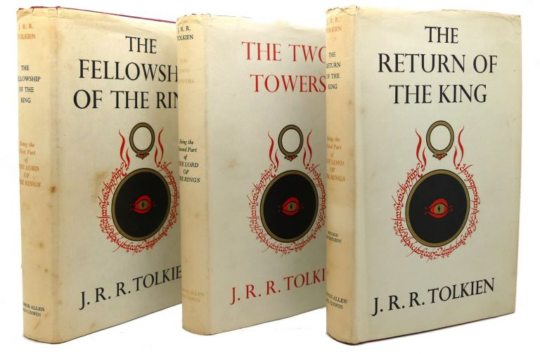 THE LORD OF THE RINGS SET THE FELLOWSHIP OF THE RING, THE TWO TOWERS & THE RETURN OF THE KING. J. R. R. Tolkien.