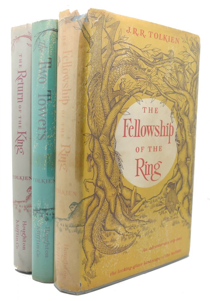 LORD OF THE RINGS FELLOWSHIP OF THE RING THE TWO TOWERS RETURN OF THE KING. J. R. R. Tolkien.