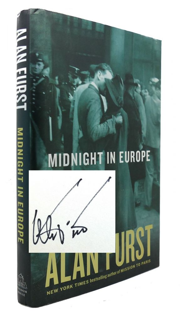 MIDNIGHT IN EUROPE Signed 1st. Alan Furst.