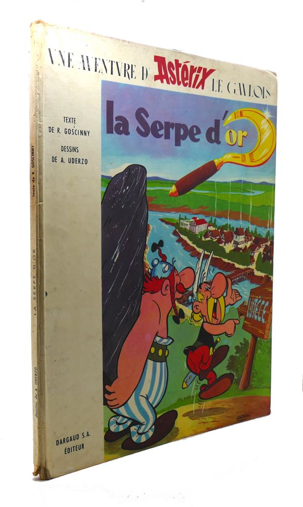 LA SERPE D'OR. Uderzo Goscinny.