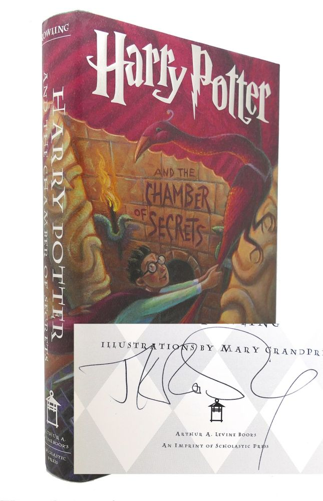 HARRY POTTER AND THE CHAMBER OF SECRETS Signed 1st. J. K. Rowling.