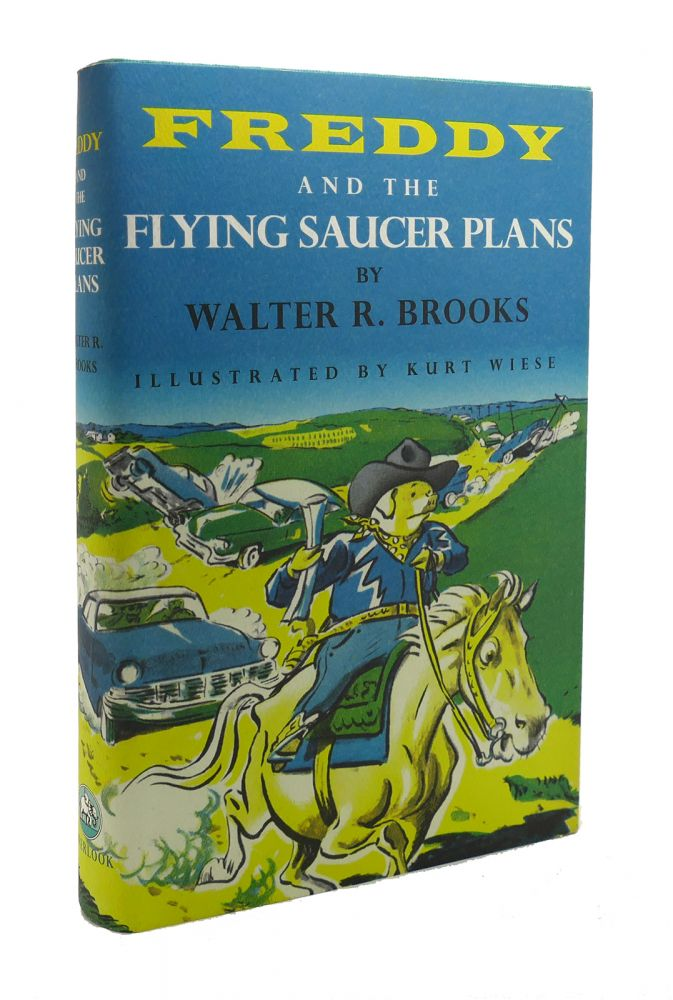 FREDDY AND THE FLYING SAUCER PLANS. Walter R. Brooks.